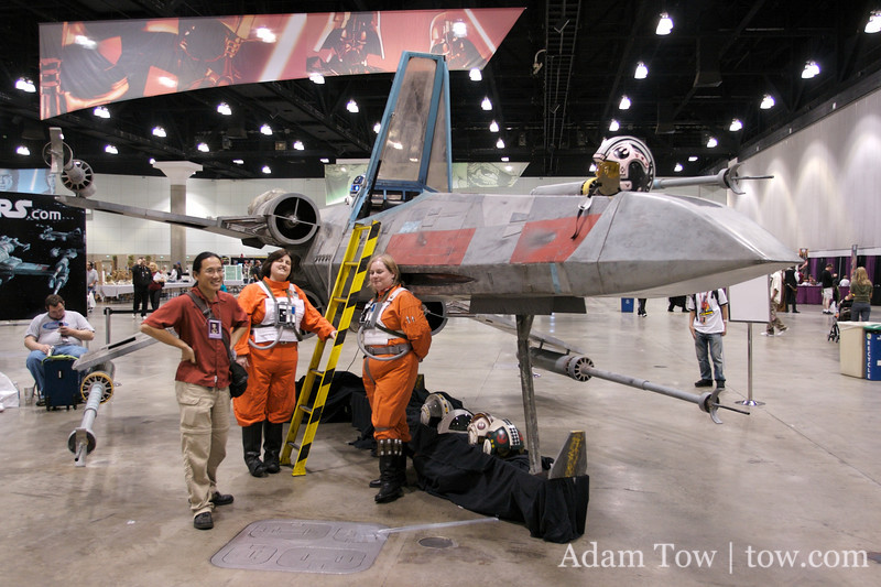 3/4 sized X-Wing