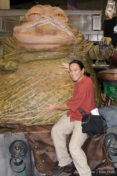 A life-sized Jabba was originally in the plans at my wedding.