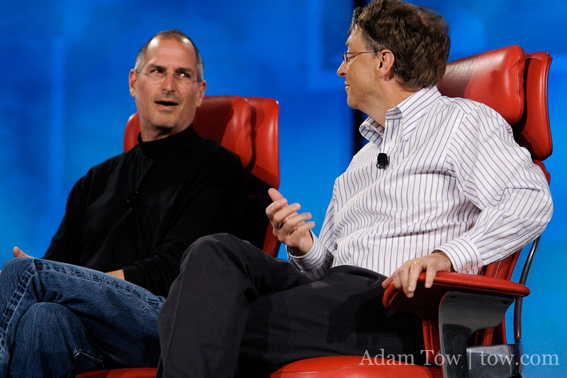 Bill Gates is not Fake Steve Jobs.