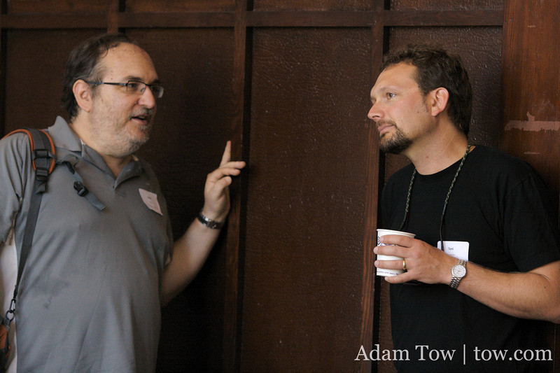 Dave Winer and Tony Schneider of WordPress