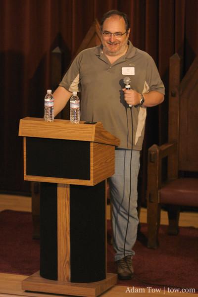 Dave Winer speaks at WordCamp 2007