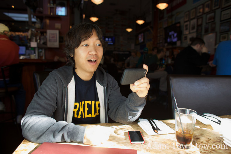 Joon-Mo hopes that the scoreboard is different for the Lions on the iPhone than at Old Pro.