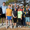 Group photo with the Fort Collins Running Club following the conclusion of the monthly Tortoise and Hare race in Edora Park.