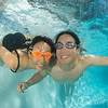 Adam and Rae, as photographed underwater by the inestimable Eric Cheng.