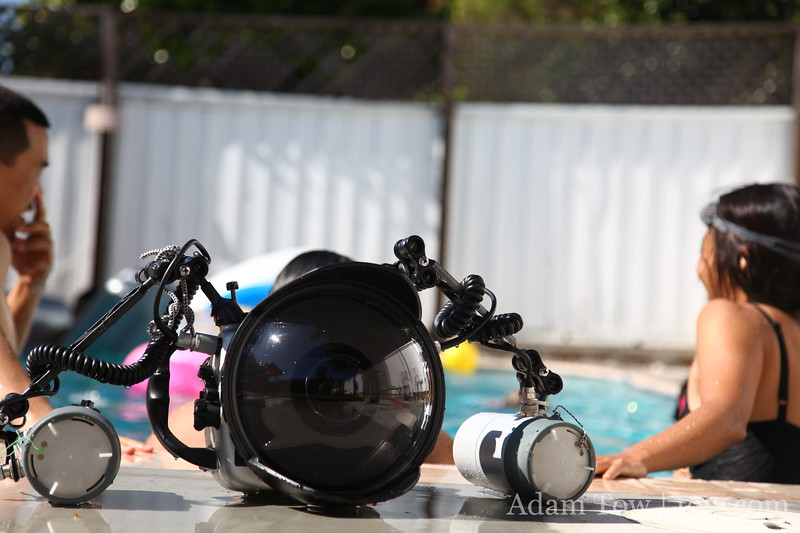 Eric's underwater camera housing.