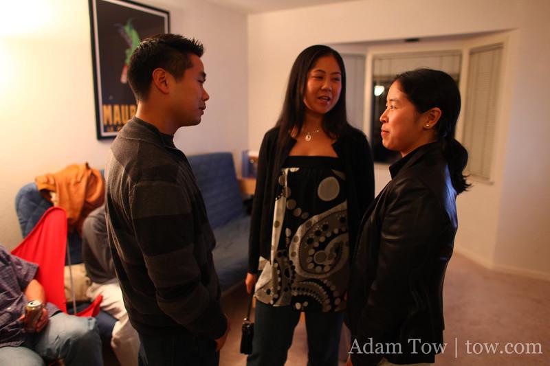 A mini-Stanford Taiko reunion.