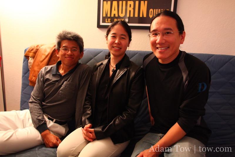 Jack, Eriko, and Adam