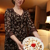 Olga made this wonderful layered berry pudding dessert