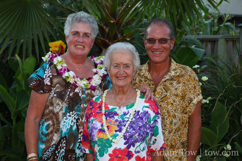 Sheila, Steve and their mom.