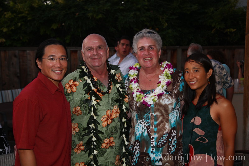 Adam, Jerry, Sheila and Rae.