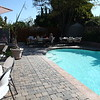 Pavers surround the pool.