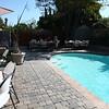Pavers surround the pool.