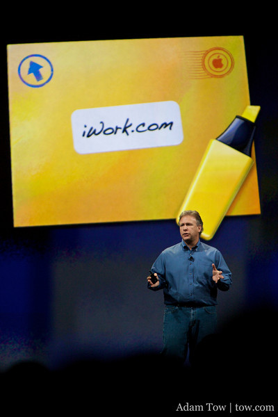 iWork.com, online sharing of your iWork documents.