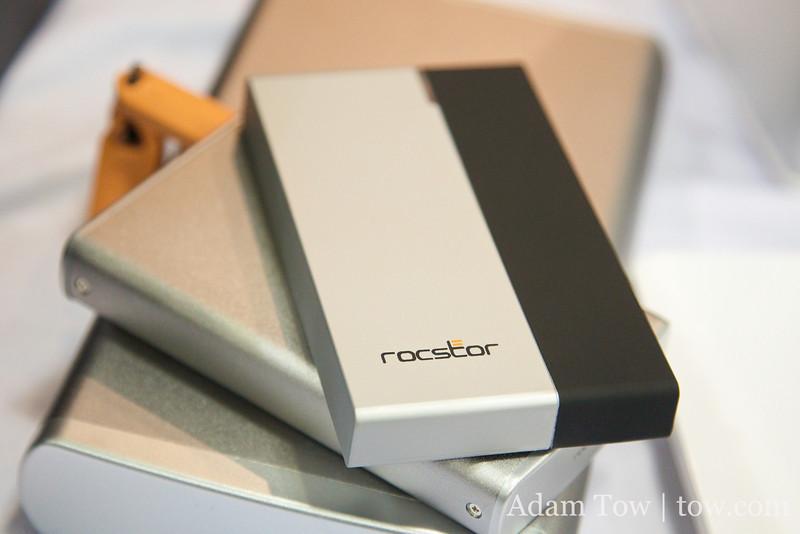Rocstor encrypted mobile hard drive.