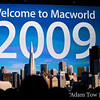 Phil Schiller, VP of Marketing for Apple, gives the keynote presentation at Macworld 2009.