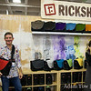 Mark Dwight of Rickshaw Bagworks. I carried my laptop and camera gear in a Rickshaw Medium Messenger Bag at Macworld.