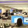 Inside the Wall Street Journal offices in New York City.
