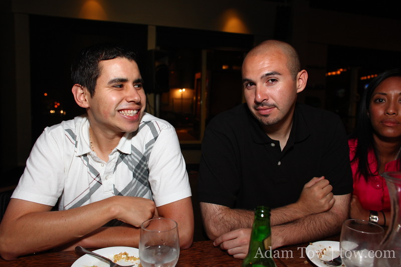 Osvaldo and Dan G.