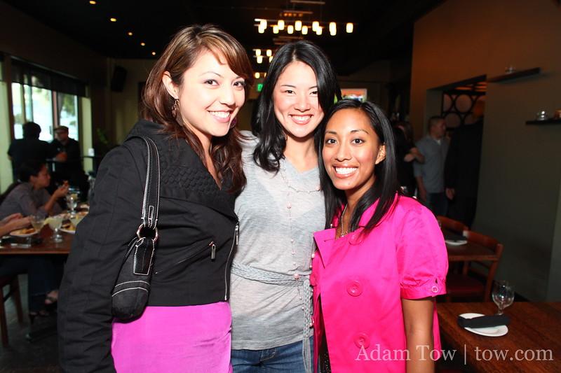 Cheryl, Mari, and Juliana