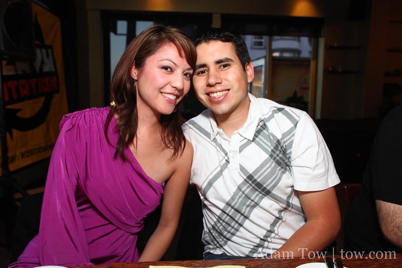 Cheryl and Osvaldo