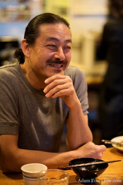 Kallan Nishimoto of Somei Yoshino Taiko