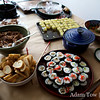 Another view of the delectable food at the Open House.