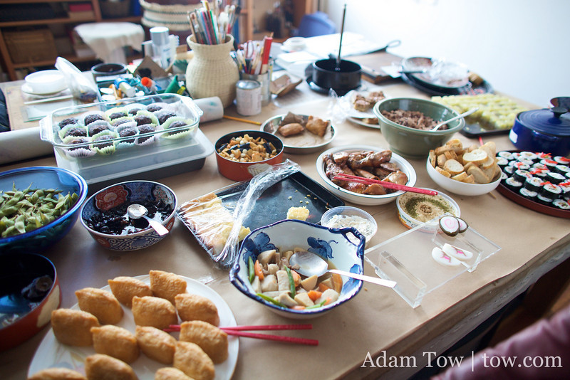 The delicious spread