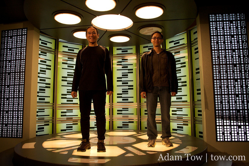 Beam us up!