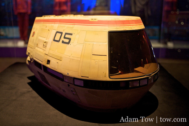 Shuttle pod from the movies.