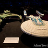 USS Excelsior and a Klingon Vor'cha class attack cruiser.