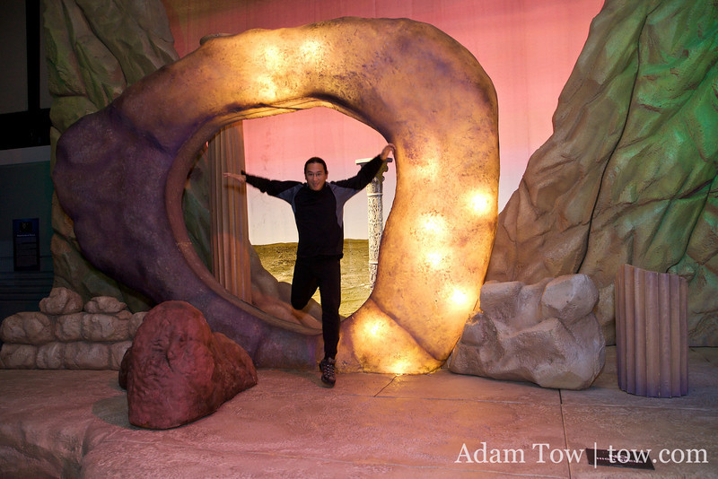 Adam returns from the Guardian of Forever.