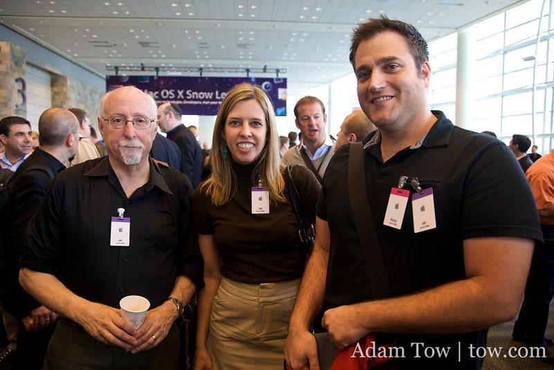Walt Mossberg, Katie Boehret, and John Paczkowski of All Things Digital.