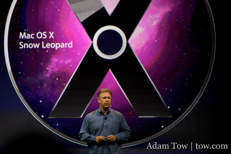 Phil Schiller talks about the $29 price of Snow Leopard.