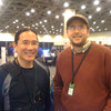 Adam with Hardy Macia of Catamount Software.