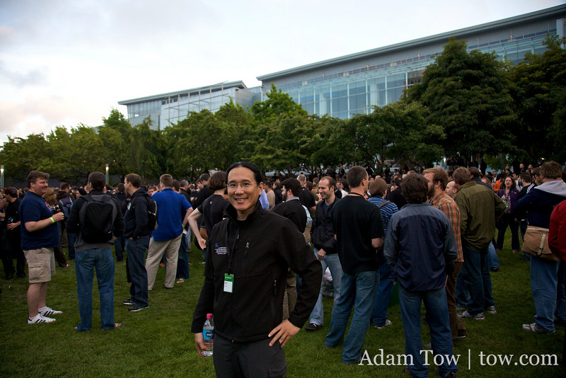 Adam at the WWDC 2009 Beer Bash.