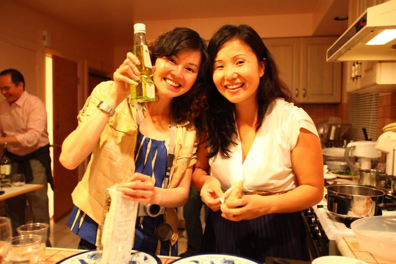 Nancy and Cristina