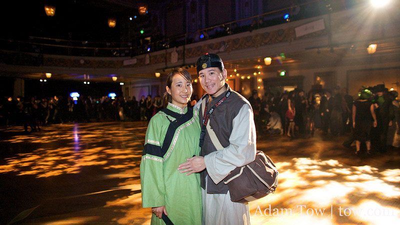 Adam and Rae at the Edwardian Ball.