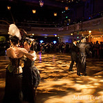 Waltzing at the 10th Edwardian Balll in San Francico's Regency Ballroom.