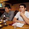 Chris and Osvaldo at Sweet Basil Thai Cuisine in San Mateo.