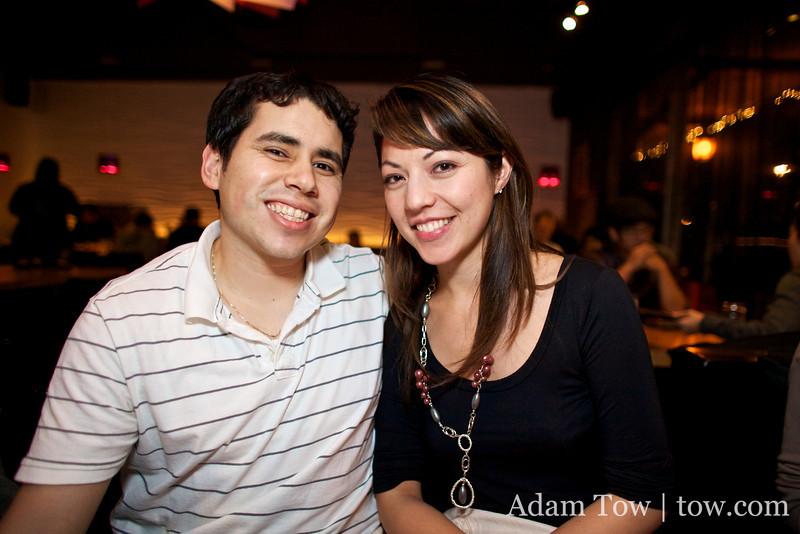 Osvaldo and Cheryl.