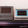 The PowerBook 100 alongside the newest 11.6-inch MacBook Air.