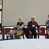 Professor Herb Clark concludes the panel discussion about the genesis of the Symbolic Systems program.