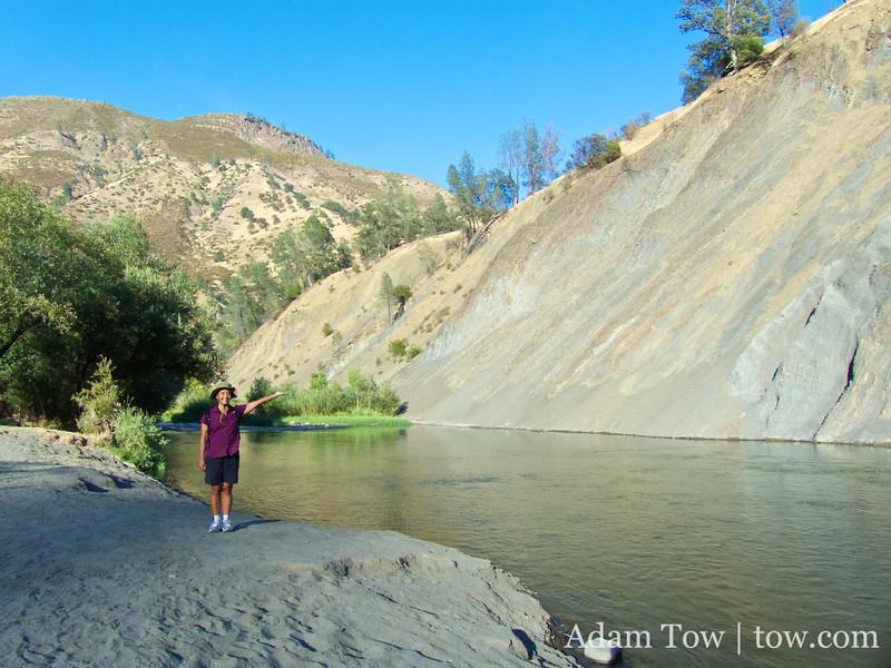 Rae at Cache Creek.
