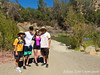 Before our 4.5 mile hike up to Frog pond. With Rae, Randy, Cheryl and Osvaldo.