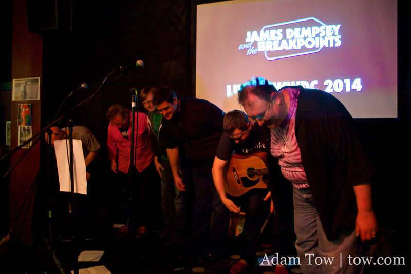 James Dempsey and the Breakpoints take a bow