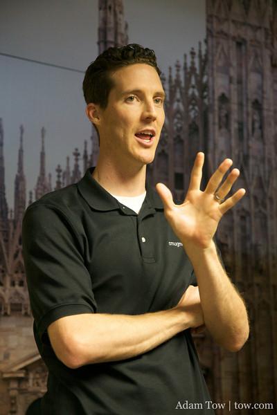 Markham gives a presentation on advanced SmugMug topics.