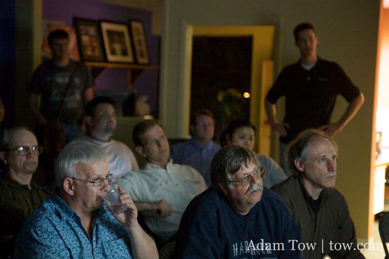 Screening Autumn Gem at the April 2009 COBA Meeting.