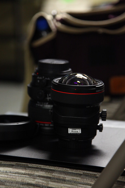The new 18mm TSE and the 24mm TSE from Canon.