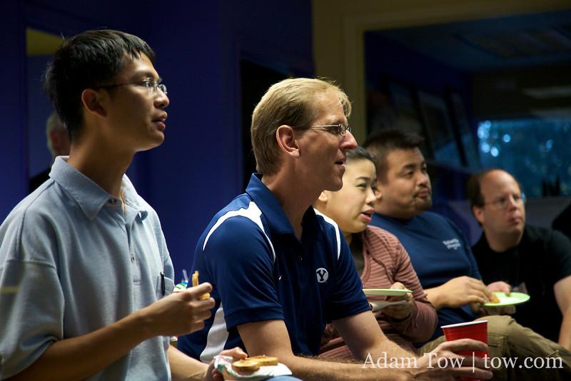 COBA members also laugh during Adam's presentation on COBA's past meetings.