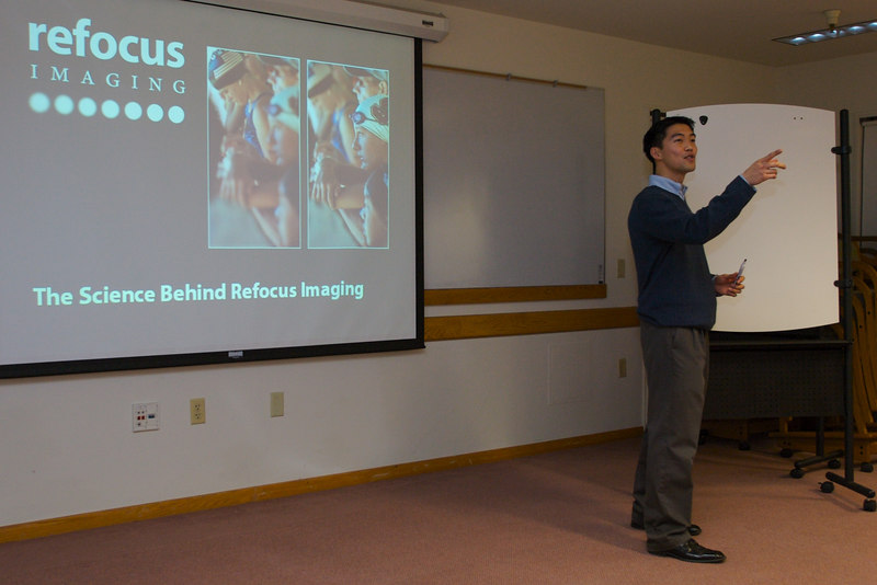 Dr. Ren Ng gets into the science behind Refocus Imaging.